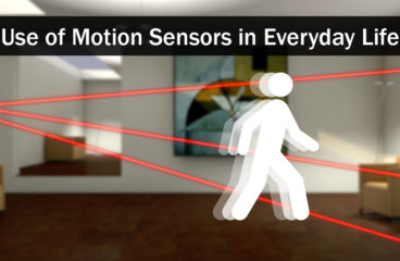 Uses of Motion Sensors in Everyday Life